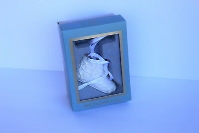 Wedgwood Baby 1st Christmas Ornament Holiday Gift Family Memory