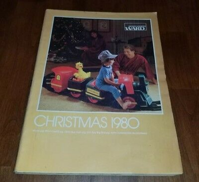 1980 Montgomery Ward Wards Merry Christmas catalog wishbook