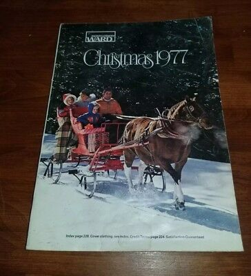 1977 MONTGOMERY WARD CHRISTMAS Catalog  WARDS Barbie