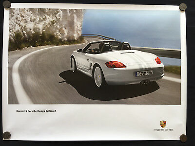 Porsche Design Edition 2 Boxster S Limited Edition (Pde 2) Showroom Poster 2009
