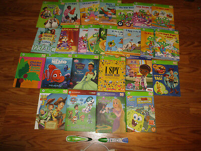 Leap Frog - Leap Reader and Tag Books and Pens lot