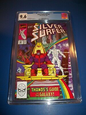 Silver Surfer #35 Starlin Thanos CGC 9.6 NM+ Beauty Infinity Gauntlet WOW!