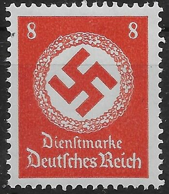Germany 3rd Reich Mi# 136 Official Stamps Issued 1934 MNH **