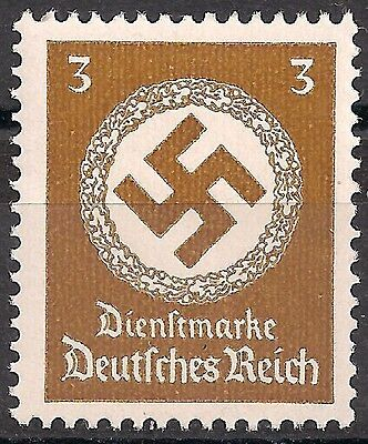 Germany 3rd Reich Mi# 166 Official Stamp Issued 1942/44 MNH **