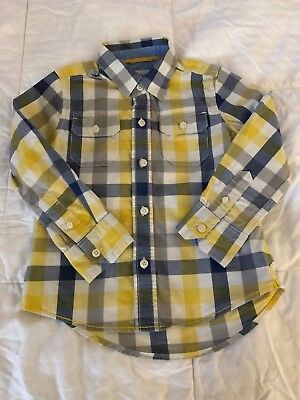 Mini Boden Toddler Boy Shirt size 3-4 Years old F18
