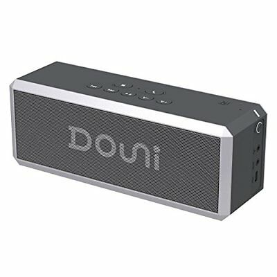 Douni A7 20W Portable Bluetooth Wireless Stereo Speaker with Enhanced Bass, LED