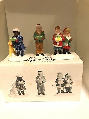 Dept 56- Snow Village ~HERE WE COME A CAROLING ~Mint in Box