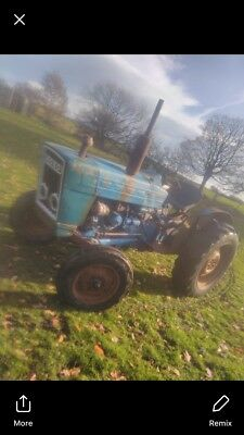 Ford 3000 pre force tractor fairly straight and original starts stops drives