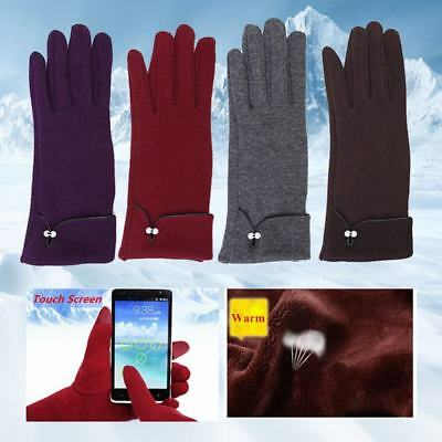 Fashion Winter Warm Thick Soft Touch Screen Fleece Gloves For Women Ladies gift