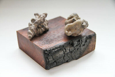 """""""BURNING CLOUDS""""Abstract Sculpture. Unclassified Meteorite/Impact Melt Rock"""