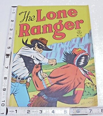 The Lone Ranger Western Comic No. 124 By Dell 1940 Gold Age