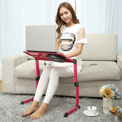 360°Adjustable Foldable laptop Notebook Desk Table Stand Portable Bed Tray