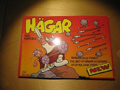 Dik Browne - Hägar The Horrible: Best of Hägar - extra long strips - in English!