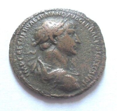 As of Trajanus     Rv. emperor on horse right