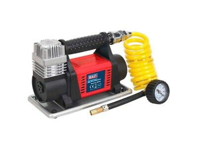 Heavy Duty 12v Mini Air Compressor Tyre Pump SEALEY - MAC04