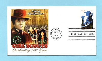 U.s. Fdc #4691 Commemorating The 100Th Anniversary Of The Girl Scouts