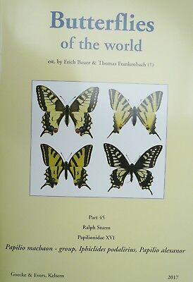 BUTTERFLIES OF THE WORLD PART 45,  Papilio machaon - group