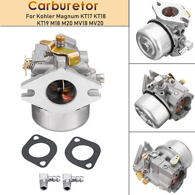 Carburetor Replace For Kohler Magnum KT17 KT18 KT19 M18 M20 MV18 MV20 Engine