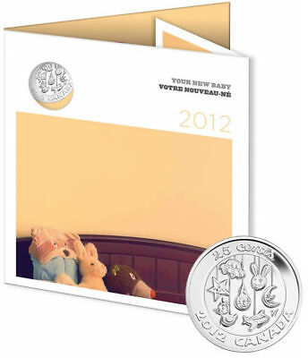 2012 Canada Baby Gift Set of Coins
