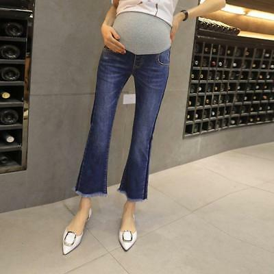Pregnant Women Jeans Stomach Lift Bottoming Pants
