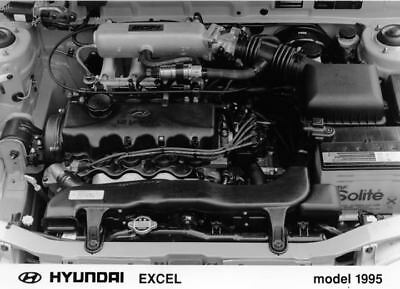1995 Hyundai Excel Engine Factory Photo Korea ua3402-UXZFRE