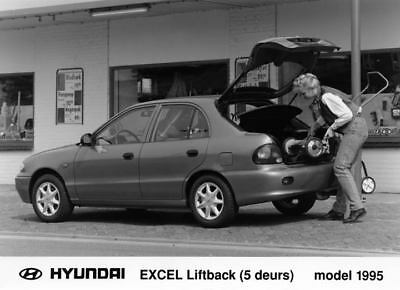 1995 Hyundai Excel Liftback Factory Photo Korea ua3406-ICHVWG