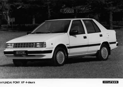 1987 Hyundai Pony XP Factory Photo Korea ua3413-PFODDQ