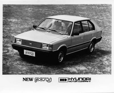 1983 Hyundai Pony Factory Photo Korea ua3421-KWHXWN