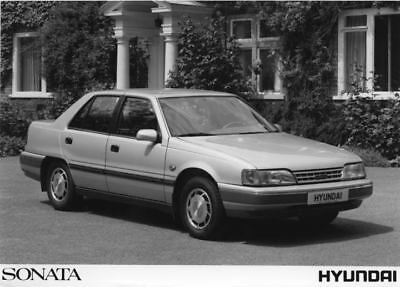 1989 Hyundai Sonata Factory Photo Korea ua3435-7B968S