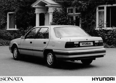 1989 Hyundai Sonata Factory Photo Korea ua3436-QTQ8K6