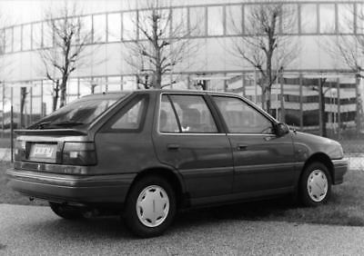 1990 Hyundai Pony Factory Photo Korea ua3468-JUABHF