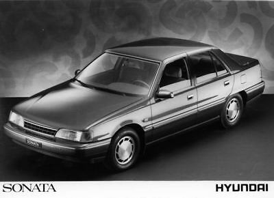 1989 Hyundai Sonata Factory Photo Korea ua3478-EQ8S2Q