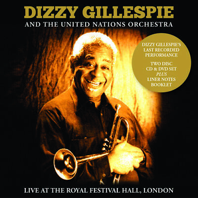 Dizzy Gillespie - Live At The Royal Festival Hall, London [New CD] With DVD