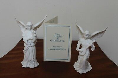 """Lenox The Nativity """"the Angels In Celebration"""" Special Limited Edition With Coa"""