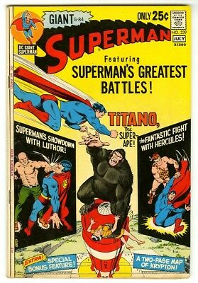 Superman #239 (1971) Fine New DC Collection Giant-Size