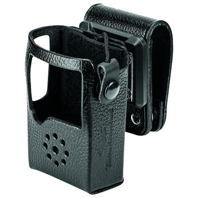 LCC-S24S - EVX-S24 Motorola Vertex Standard Leather Case, Swivel Belt Loop