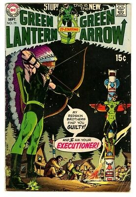 Green Lantern  #79 (1970) VG New DC Collection art by Neal Adams