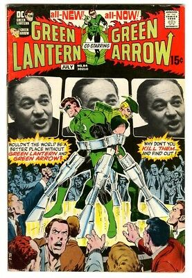 Green Lantern  #84 (1971) VG+ New DC Collection art by Neal Adams
