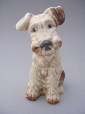 Sylvac Seated Terrier - 1378 - Brown And Beige