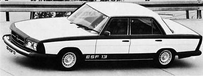 1973 Mercedes Benz ESF 13 Safety Car Concept Photo ua5398-LDOROO