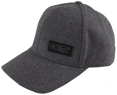 ORIGINAL PENGUIN MELTON Wool Cap Mens Designer Hat Fashion Gift ... 35f6a09f547d