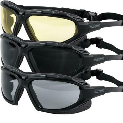 f784b23db2bfc3 Valken Echo Safety Glasses Goggles Airsoft Vented Lense UV Protection  Paintball