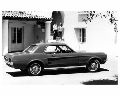 1967 Ford Mustang Factory Photo ua7865-3LDS63