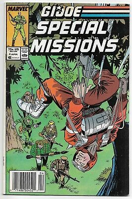 1986 Marvel Comics Group The G.i. Joe Special Missions #4