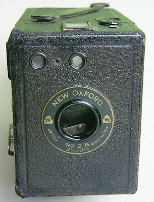 English 'new Oxford' Box Camera