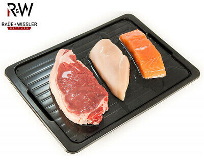 Raue & Wissler Food Defrosting Tray + Run-Off Box