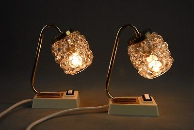 Pair of Bed Side Lamps HELENA TYNELL Limburg Mid Century Vintage 1970s 60s 50s