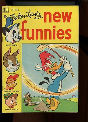 New Funnies #152 Fine- 5.5 Andy Panda / Woody Woodpecker 1949 Dell