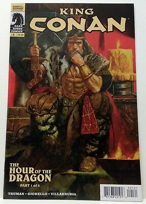 King Conan The Hour of the Dragon 1 Rare Incentive Variant Cover Dark Horse 2013