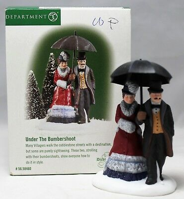 """Department 56 """"Under The Bumbershoot"""" Dickens' Village Accessory #58460 MIB"""